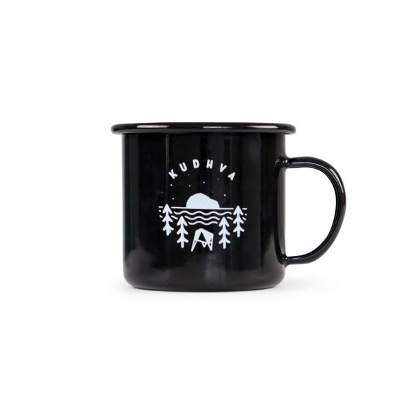 The Kudhva enamel mug