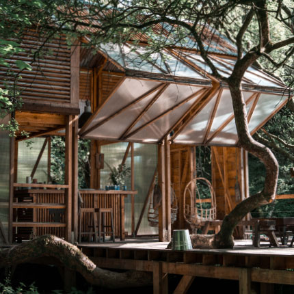 Book your stay in a the Kudhva Danish Cabin