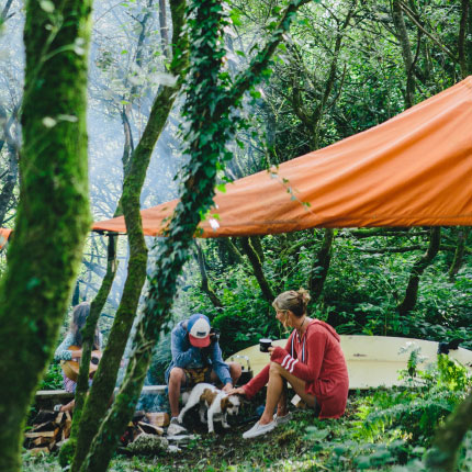Book your stay in a Tentsile Tree Tent